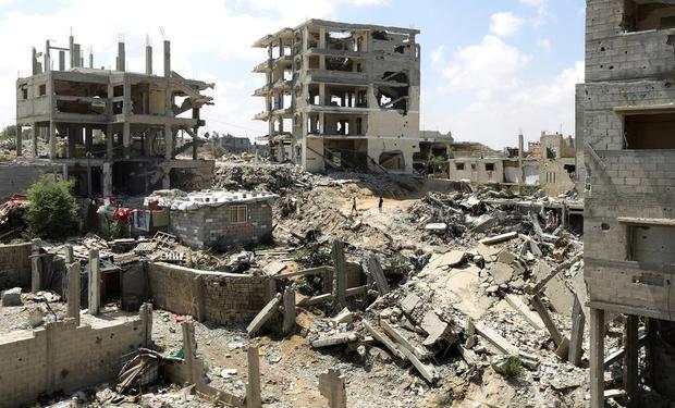 PALESTINIAN-ISRAEL-CONFLICT-GAZA-ANNIVERSARY